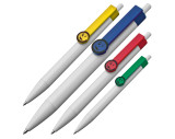 Bolígrafo con clip smiley
