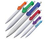 Bolígrafo con clip de manos en 2D