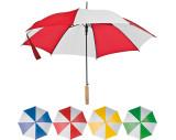 Paraguas automático bicolor.