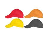 Clásica gorra de béisbol de 5 paneles.