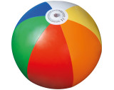 Pelota de playa multicolor
